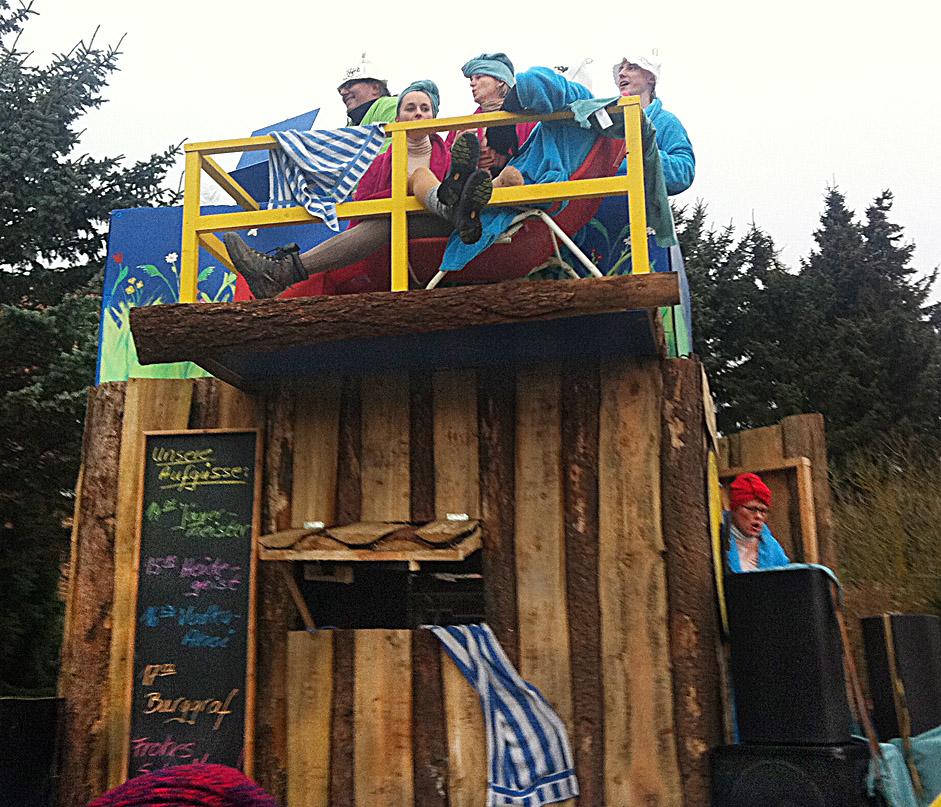 Karneval in Norddeutschland, carnival in Northern Germany