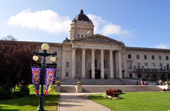 Parlamentsgebäude Winnipeg