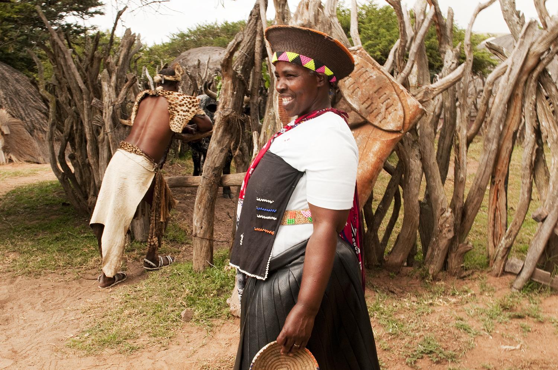 KwaZulu-Natal, traditionelle Kleidung der Zulu