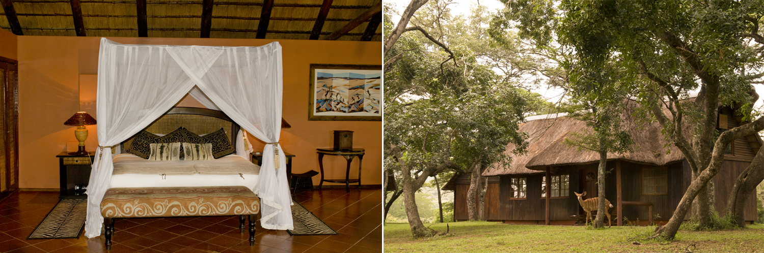 Thula Thula Private Game Reserve, Elephant Safari Lodge