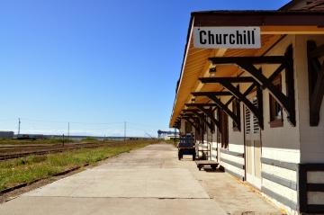 Bahnhof von Churchill