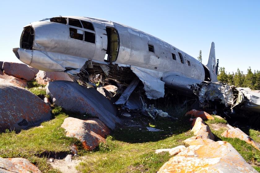 Flugzeugwrack Miss Piggy in Churchill