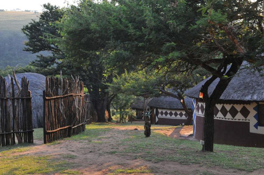 KwaZulu-Natal - traditionelle Rundhüttendörfer