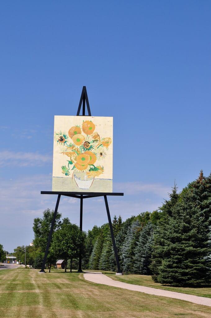 Van Gogh Sonnenblumen Altona