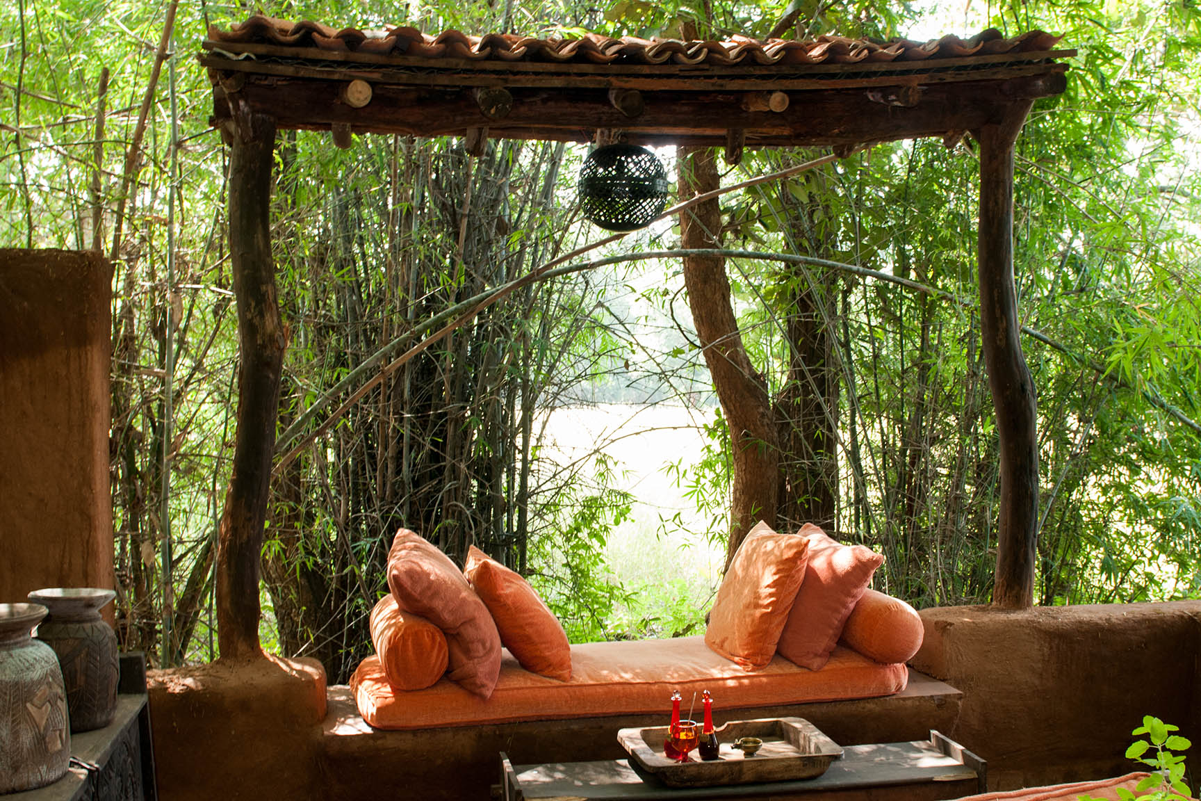 Luxury in the jungle of Bandhavgarh National Park India