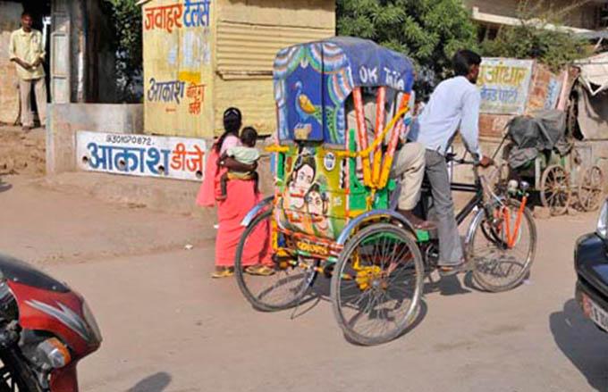 Unterwegs in Madhya Pradesh ©Regina Fischer-Cohen