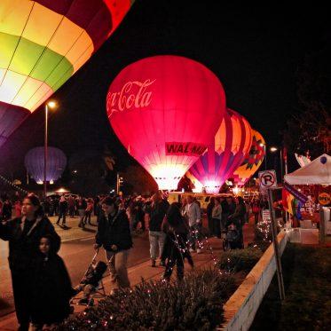 Heißluftballon-Regatta in Arizona