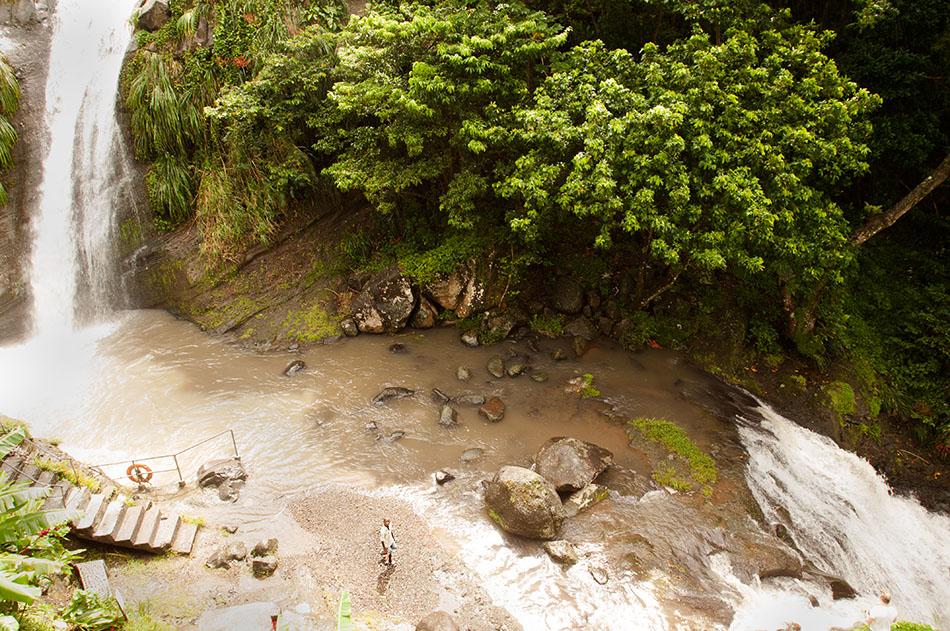 Concord Cascade in Grand Etang National Park
