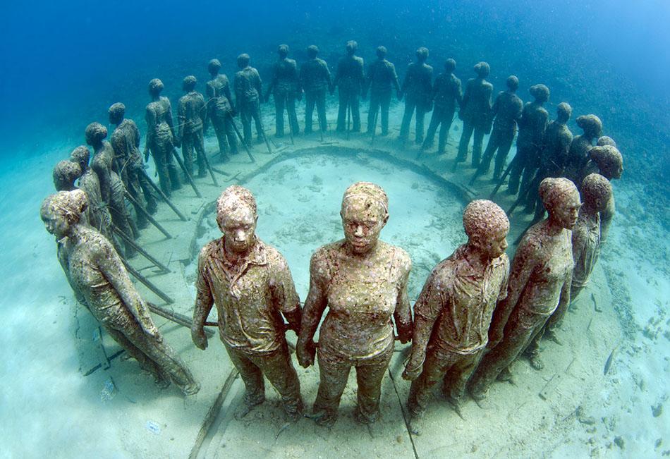 Underwater Sculpture Park Grenada