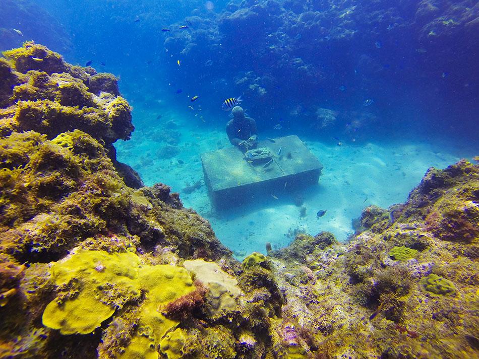 Unterwasser Skulpturenpark Grenada