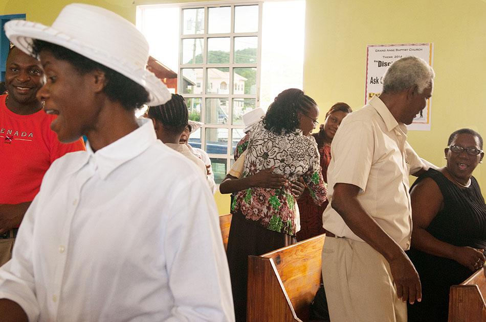 Herzliches Miteinander auf Grenada