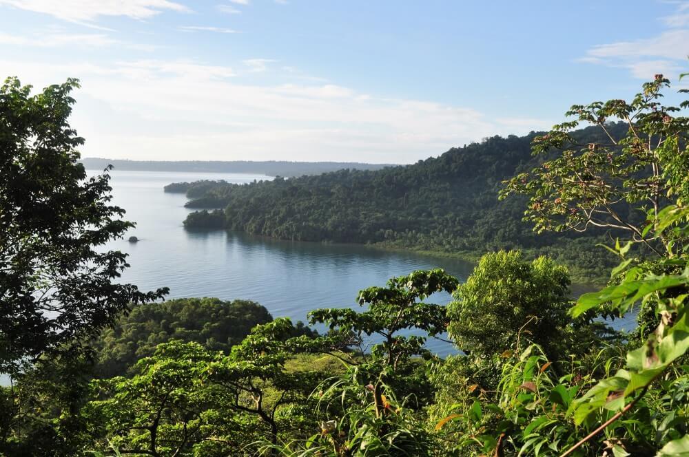 Ausblick auf den Nationalpark Isla Coiba