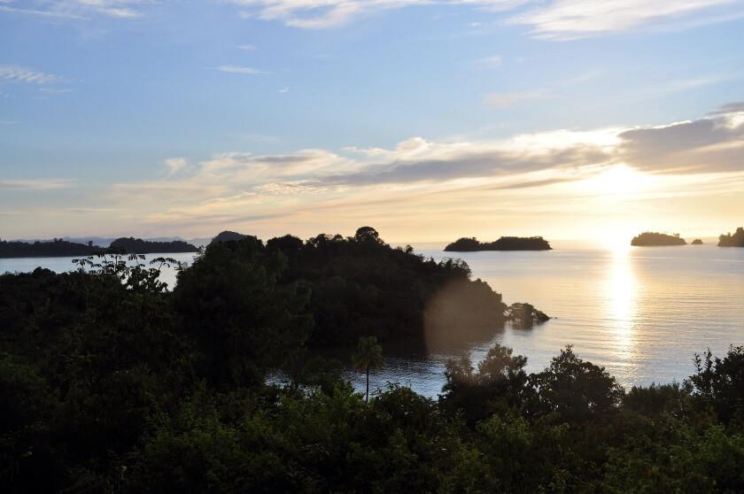 Sonnenaufgang Isla Coiba Panama